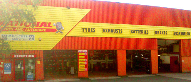 National Tyres and Autocare - Plymouth branch