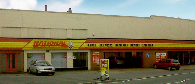 National Tyres and Autocare - Poole branch