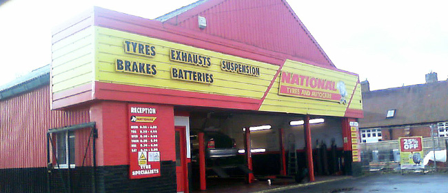 National Tyres and Autocare - Havant branch
