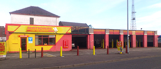 National Tyres and Autocare - Greenock branch