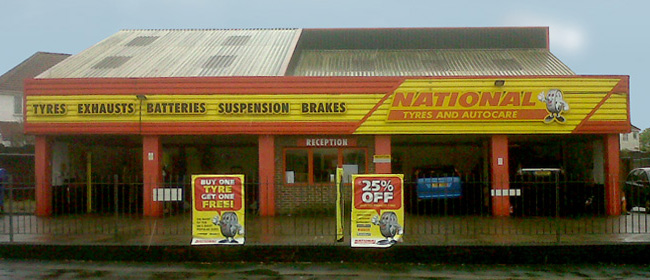 National Tyres and Autocare - Southampton (Totton) branch