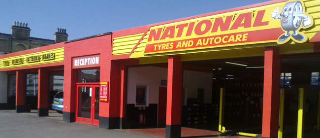 National Tyres and Autocare - Winchester branch