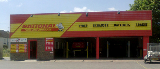 National Tyres and Autocare - Dorchester branch