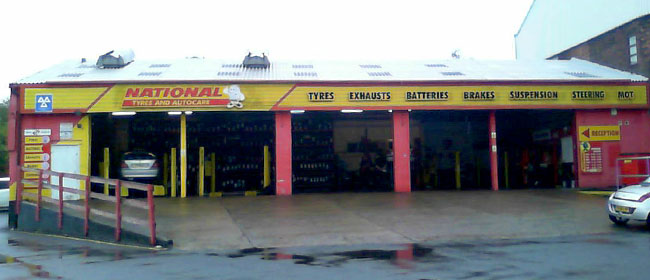National Tyres and Autocare - Preston (Fylde Road PR2) branch