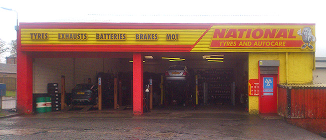 National Tyres and Autocare - East Kilbride branch