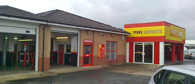 National Tyres and Autocare - Falkirk branch