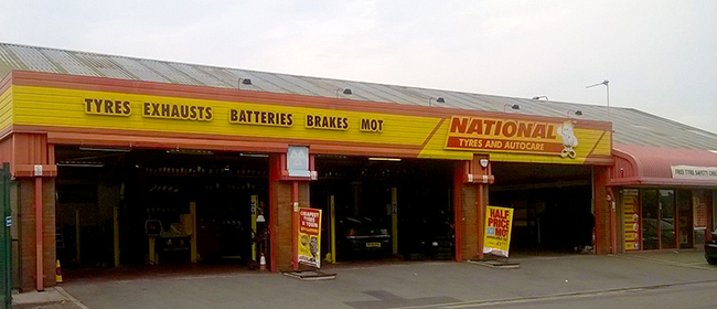 National Tyres and Autocare - Warrington (Tilley Street WA1) branch