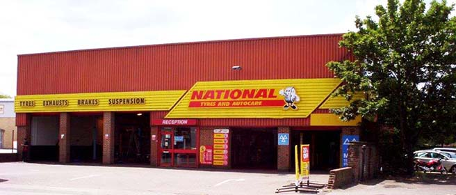 National Tyres and Autocare - Guildford branch