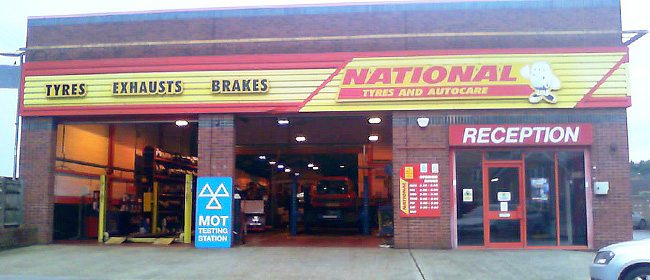 National Tyres and Autocare - Basingstoke branch