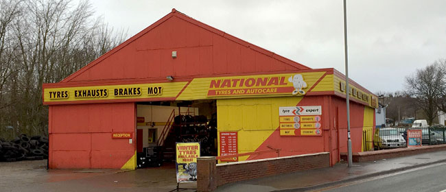National Tyres and Autocare - Chorley (Bengal Street PR7) branch