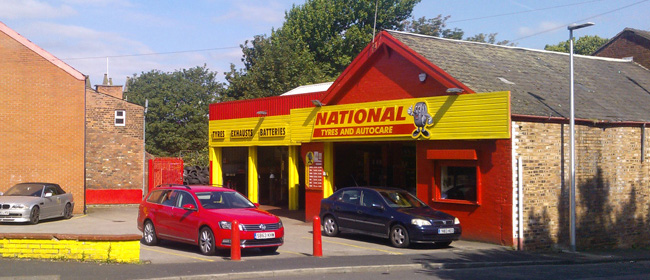 National Tyres and Autocare - Runcorn branch