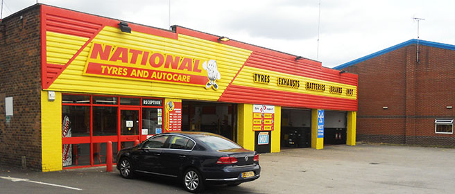National Tyres and Autocare - Mansfield branch
