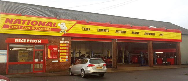 National Tyres and Autocare - Chorley (Castle Street PR7) branch