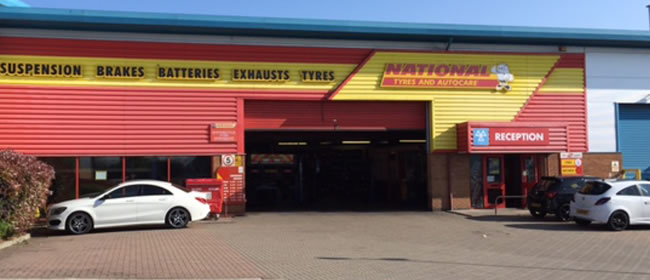 National Tyres and Autocare - Basildon branch