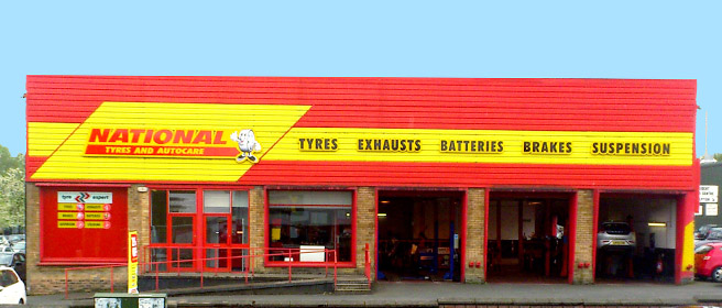 National Tyres and Autocare - Motherwell branch
