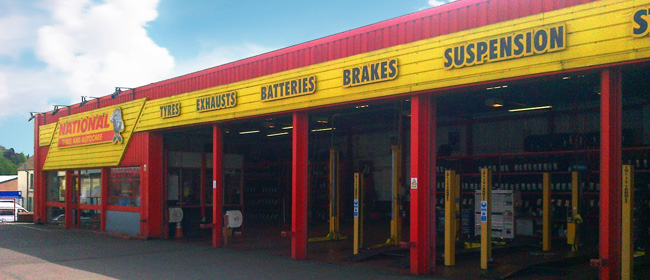 National Tyres and Autocare - Grantham branch