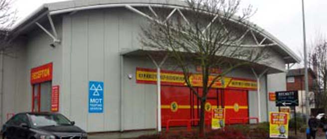 National Tyres and Autocare - Northampton branch