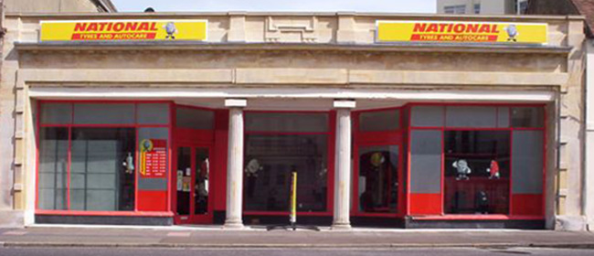 National Tyres and Autocare - Eastbourne branch