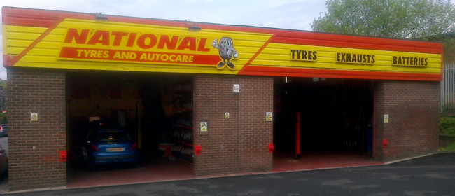 National Tyres and Autocare - Yeadon branch