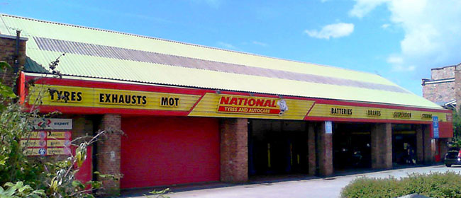 National Tyres and Autocare - Bootle branch