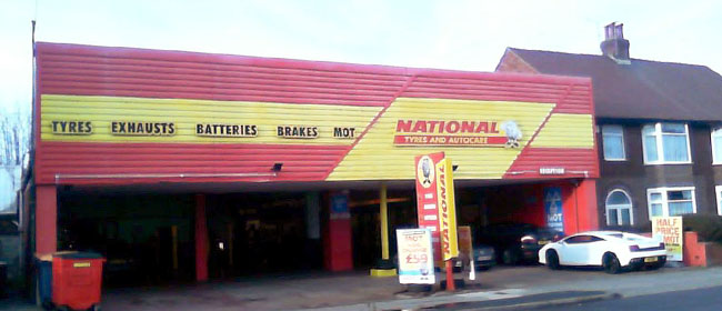 National Tyres and Autocare - Wallasey branch