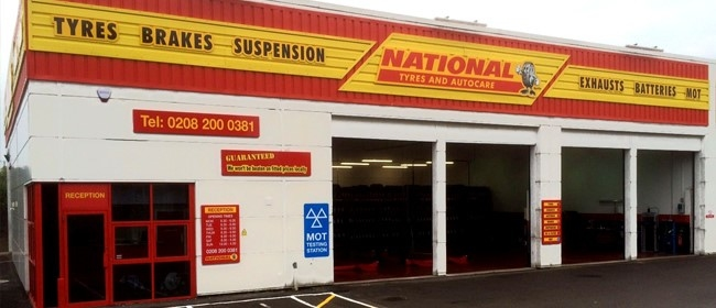 National Tyres and Autocare - Hendon branch