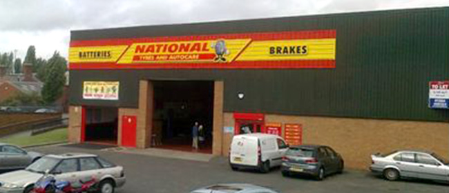 National Tyres and Autocare - Stourbridge branch