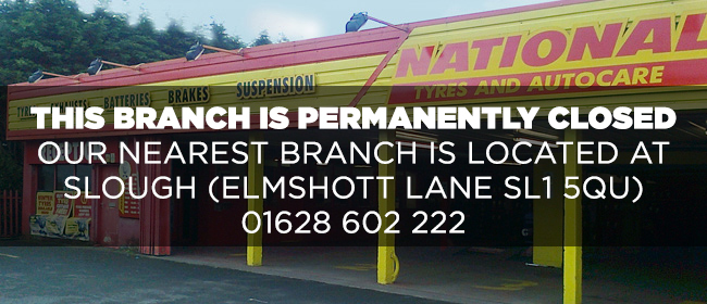 National Tyres and Autocare - Slough (Bath Rd SL1) branch