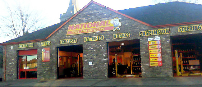 National Tyres and Autocare - Brecon branch