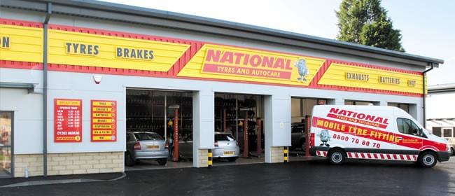 National Tyres and Autocare - Colne branch