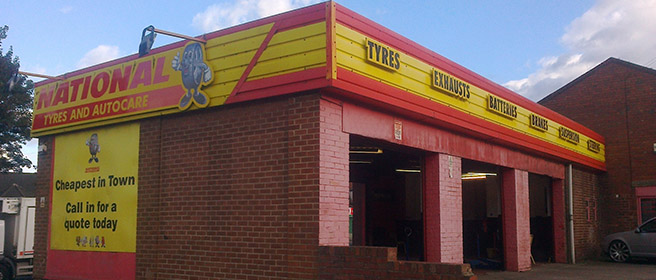 National Tyres and Autocare - Hemsworth branch
