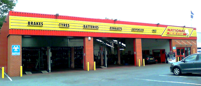 National Tyres and Autocare - Leicester (Aylestone Road LE2) branch