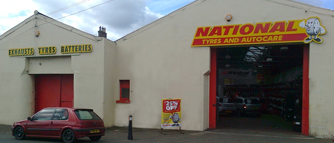 National Tyres and Autocare - Haddington branch