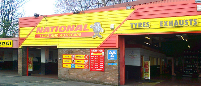 National Tyres and Autocare - Ashington branch