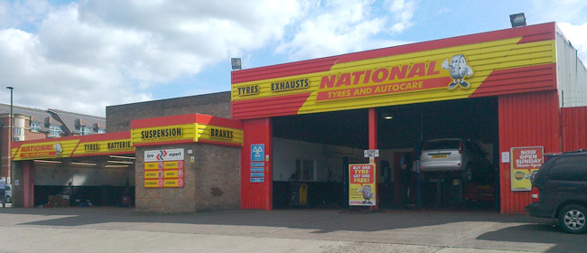 National Tyres and Autocare - York branch