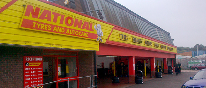 National Tyres and Autocare - Kidderminster branch