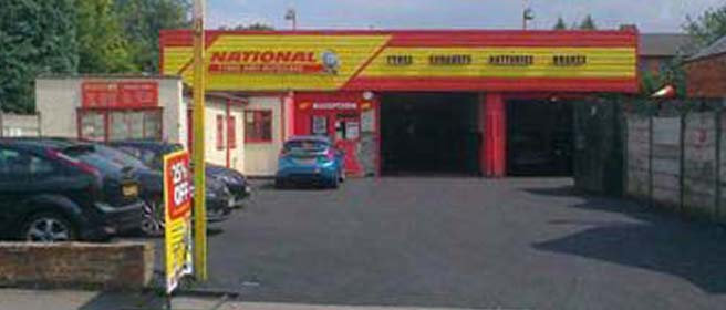 National Tyres and Autocare - Sutton Coldfield branch