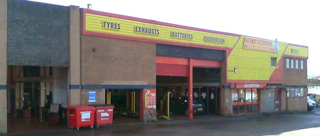 National Tyres and Autocare - Hockley branch