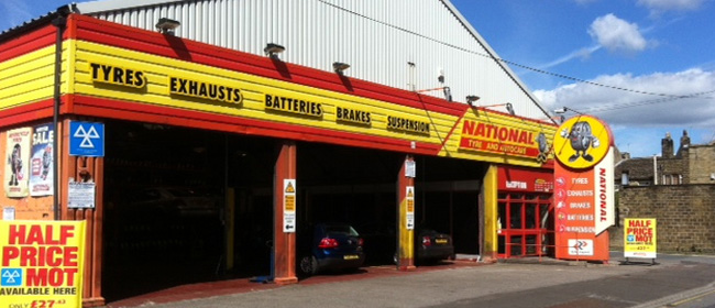 National Tyres and Autocare - Huddersfield branch
