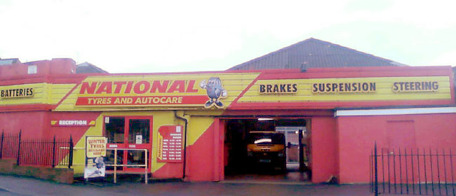 National Tyres and Autocare - Yeovil branch