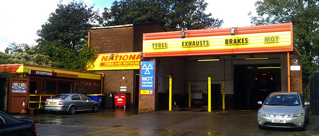 National Tyres and Autocare - Newton-Le-Willows branch