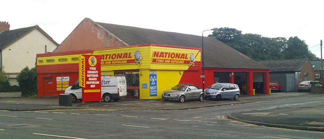National Tyres and Autocare - Sale branch