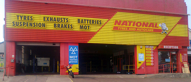National Tyres and Autocare - Bristol branch