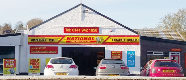 National Tyres and Autocare - Glasgow (Bearsden G61) branch