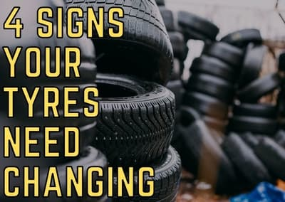 4 signs your tyres need changing