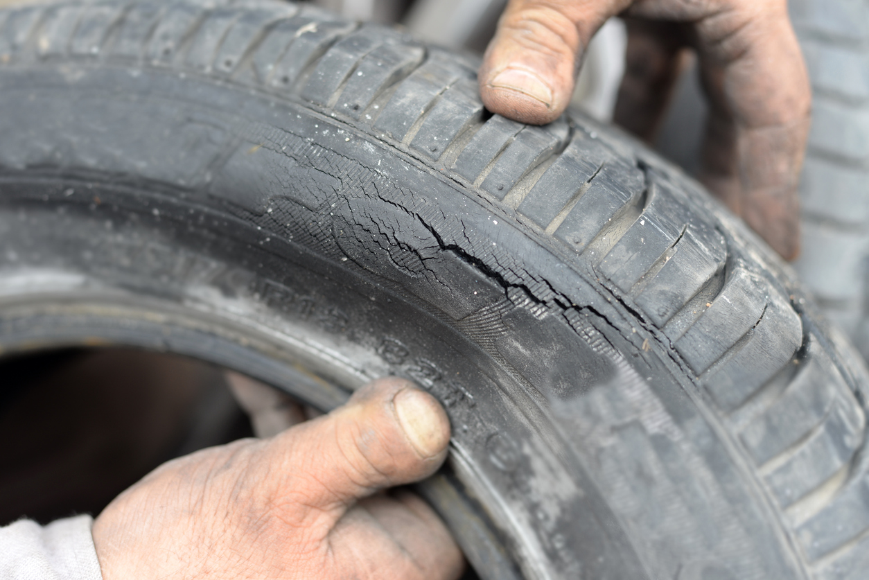 Typical Tyre Damage Tyre Safety