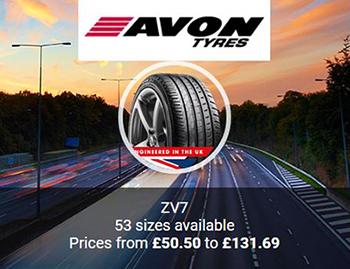 Avon Tyres ZV7