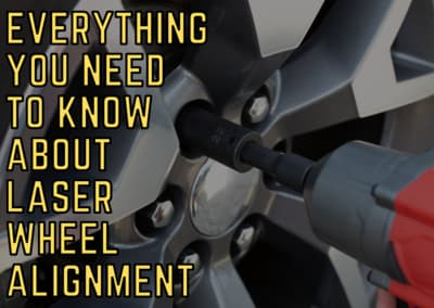 Everything you need to know about laser wheel alignment