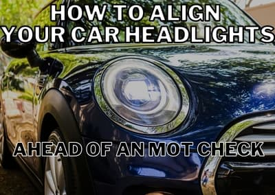 How to align your car headlights ahead of an MOT check