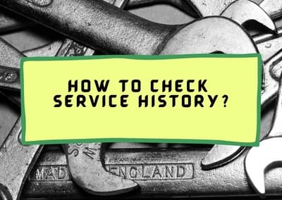 how to check service history